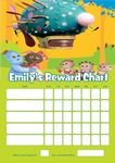 Personalised In the Night Garden Reward Chart (adding photo option available)